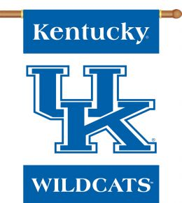 "Kentucky Wildcats 2-Sided 28"" X 40"" Banner w/ Pole Sleeve"