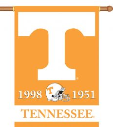 "Tennessee Volunteers Champ Years 2-Sided 28"" X 40"" Banner"