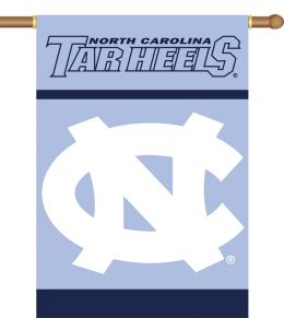 "North Carolina Tar Heels 2-Sided 28"" X 40"" Banner w/ Pole Sleeve"