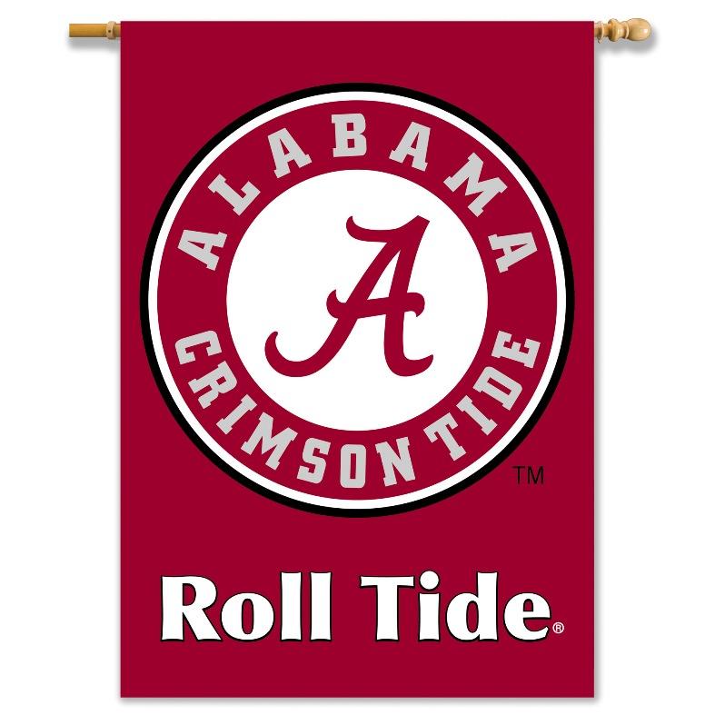 Alabama Crimson Tide 2 Sided 28 X 40 Roll Tide Logo Banner