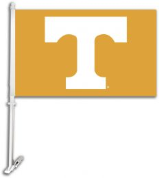 Tennessee Volunteers  NCAA College Team Car Flag w/Wall Brackett