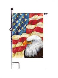 "American Eagle Patriotic Pride Garden & House Flag (Flag size: 12.5"" x 18"")"