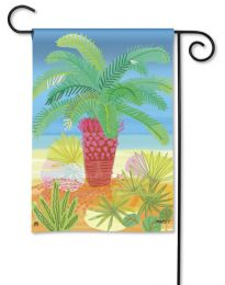 "Pretty Palm Decorative Outdoor Garden or House Flag (Flag size: 12.5"" x 18"")"