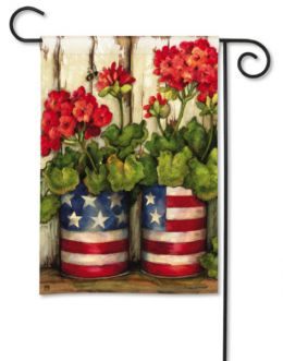"Glory Garden Patriotic Seasonal Garden/House Flag & Doormat (Select Flag or Doormat: 12.5"" x 18"")"