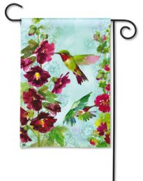 "Hummingbird Spring Seasonal Decorative Garden or House Flag (Flag size: 12.5"" x 18"")"